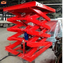 Heavy duty static scissor platform electric lift table hydraulic table lift