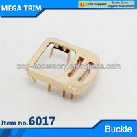 fascinating special metal bag ornament No.6017 high quality bag buckle