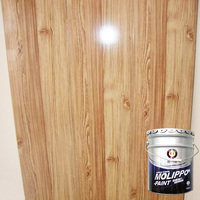 Fast-drying glossy transparent alkyd wood lacquer