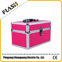 High Quality Aluminum Beauty Box for Makeup Brand Vanity Case / Box with Lock