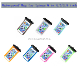 Hot sell Wholesale PVC Waterproof bag/Case/Cover for Mobile phone