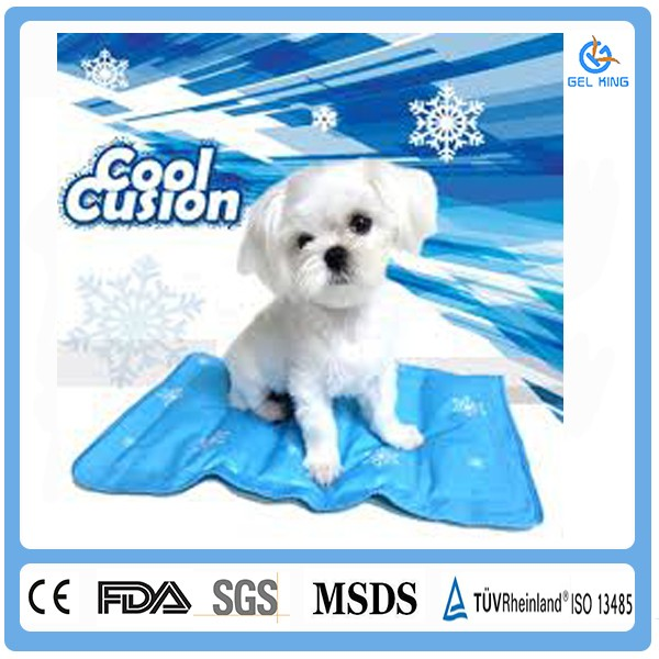 Dog Kennel Wholesale Waterproof Pet Cool Gel Mat Pet Cooling Pad Dog Cat Pet Cooling Cushion Pad