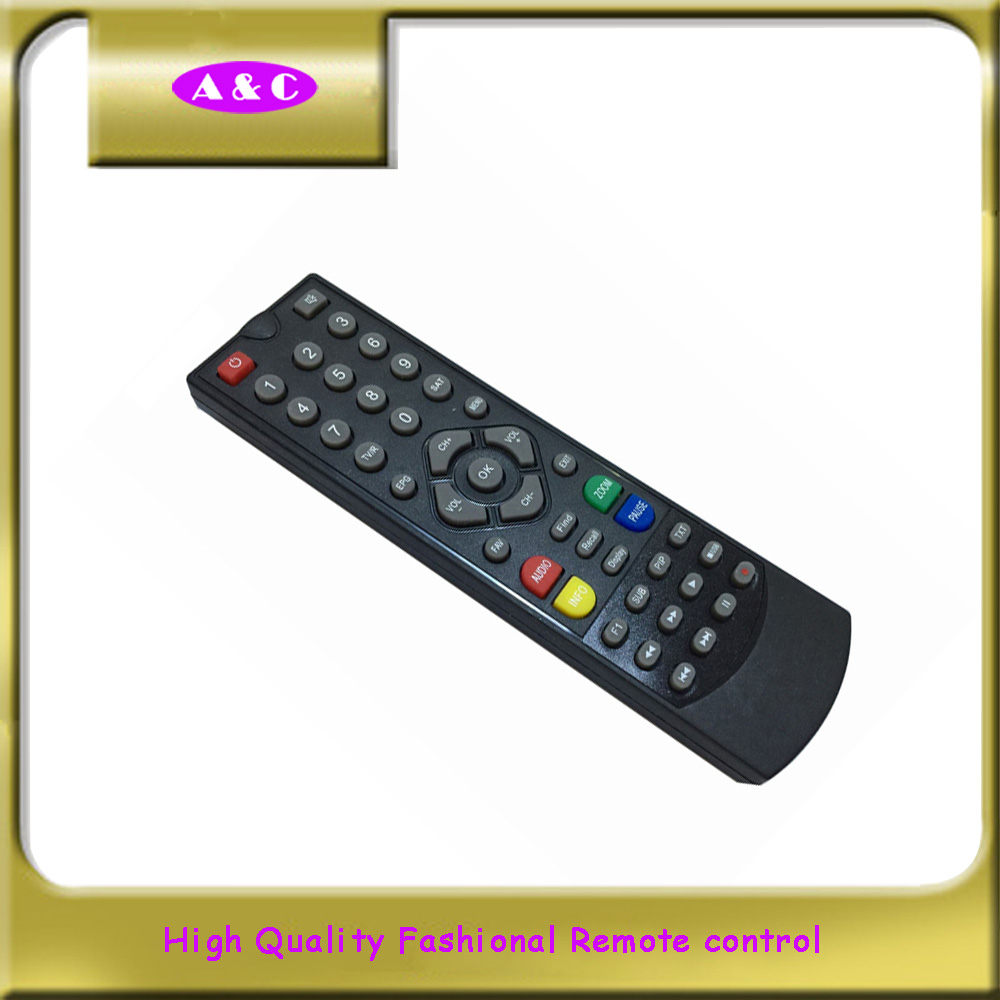 custom printed programmable hd ir tv remote control