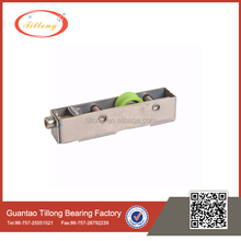 stainless steel frame single wheel roller for sliding door
