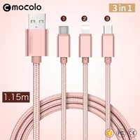 Mocolo Multi Nylon Braided Micro USB