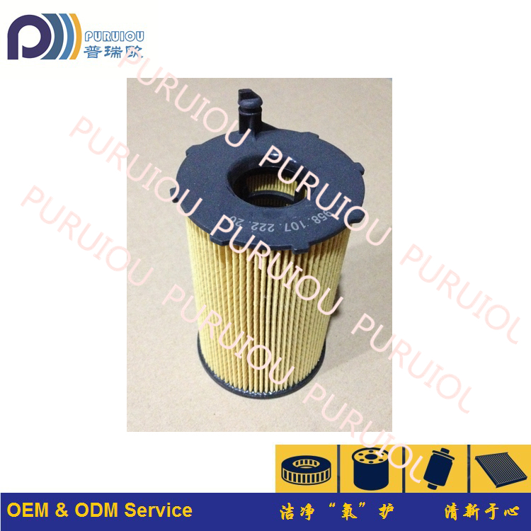 High Quality Car Oil Filter Element Suit For VW AUDI 958.107.222