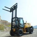 China Brand New All Terrain Masted Forklift For Sale ,Optional Cabin Heat Camera/3 Stage Mast /Side Shift