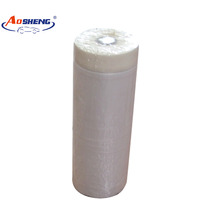 waterproof instant adhesion pre taped masking drop film