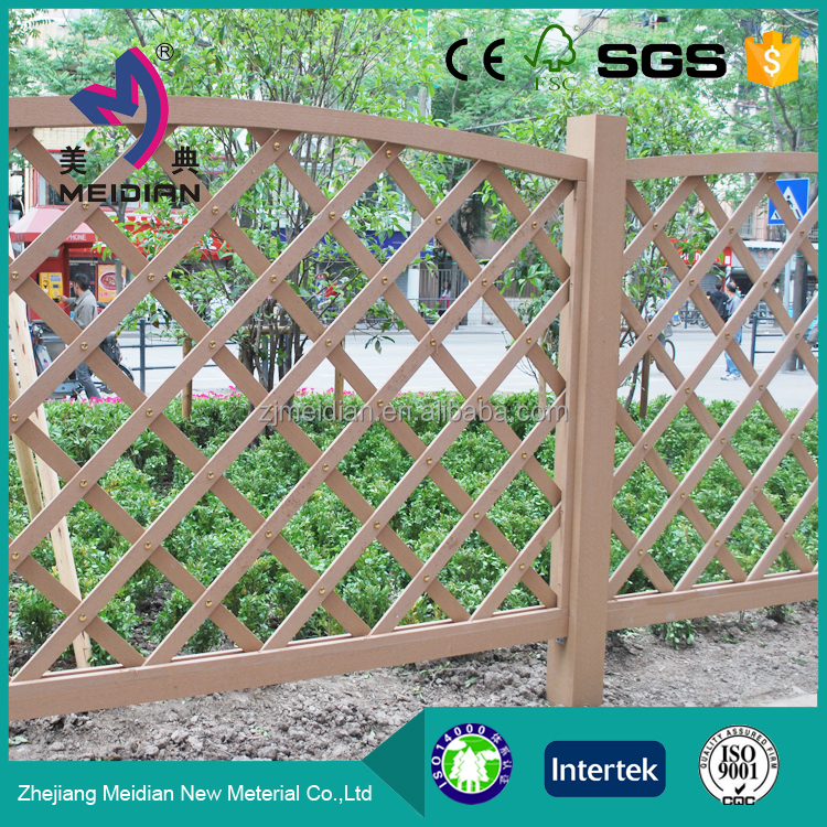 Hot products stairs wpc fence panel