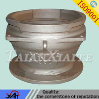 resin sand casting ductile iron casting pump body for machinery parts