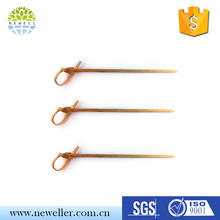 High quality cheap heart shaped looped skewers With quality guarantee