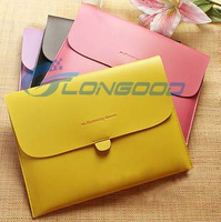 Flip Pouch Case PU Leather Pouch Bag Flip Cover For iPad