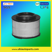 Auto parts air filter manufacturer 17801-0C010 for car TOYOTA HILUX (VIGO) III Pickup, MAZDA BT-50 (CD)