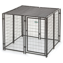 Durable welded wire large dog kennel
