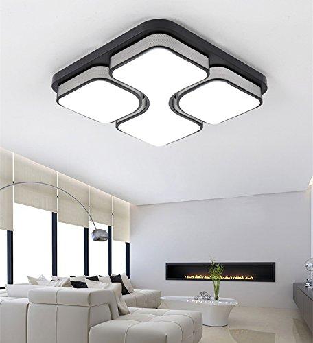 2017 único lámpara de techo moderna para sala comedor blanco fresco ...