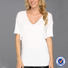 ladies short sleeve loose comfortable white blouses for office
