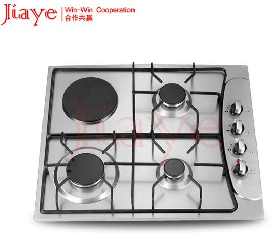 unique and irreplaceable 4 burners electric gas stove blue fire flame