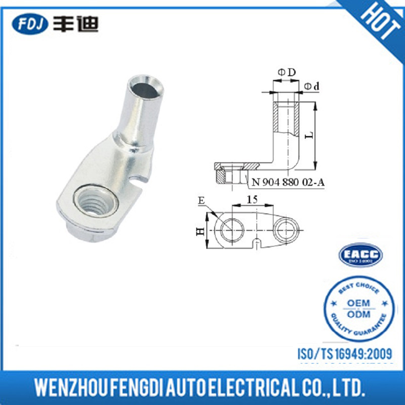 High Quality New Design Brass Wire/Cable Tube Terminal with Screw For Auto Car