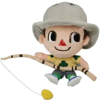 Plush Doll Custom Cartoon Character Doll Toys