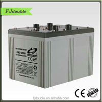 High efficiency Solar Energy Home System tubular battery 2v 2000ah