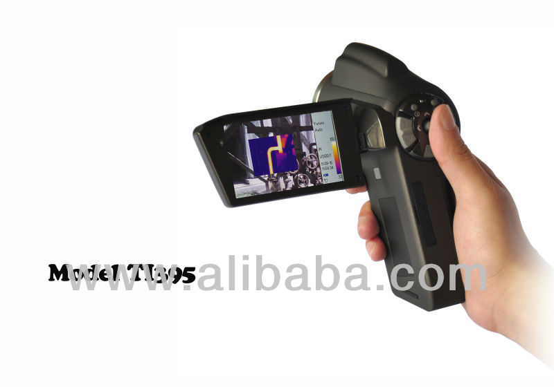 model TI395 handheld infrared thermal imaging camera