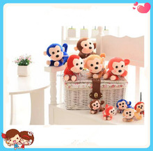multi-choice custom cheap plush Monkey toys Crane claw machine toys
