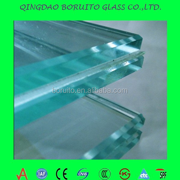 safety building glass 8.38mm laminated glass tempered laminated glass
