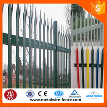 Telecommunication towers protection steel Palisade Fence