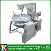 200L food processing double jacketed large commercial cooking pots