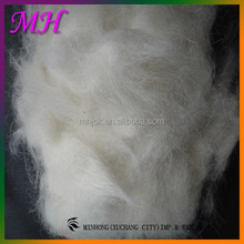 Cashmere Wool Fabric, Natural White Color Raw Wool , Best Selling Products 2017 in USA Washed Angora Goat Hair