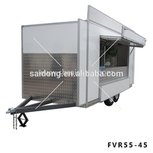 burger trailer/hamburger sale fast food vending cart/outdoor food sale truck