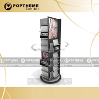 POP up Acrylic cosmetic display stand cabinet,cosmetic product display stands