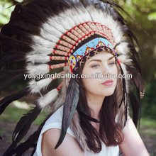 good quality Indian feather headdress for sale