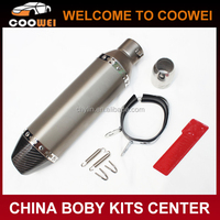 High Quality Stainless Steel ATV AK Exhaust Muffler Pipe for Any Motorcycle