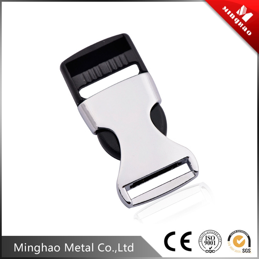 Zinc alloy quick release buckle metal,50.86*20.16mm side release buckle