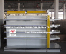 Supermarket Racking Steel Gondola/Supermarket Display Shelves/Cosmetic/ Glass Shelf