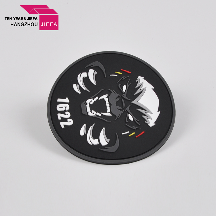 Custom Embossed Logo PU Leather Label For Garment