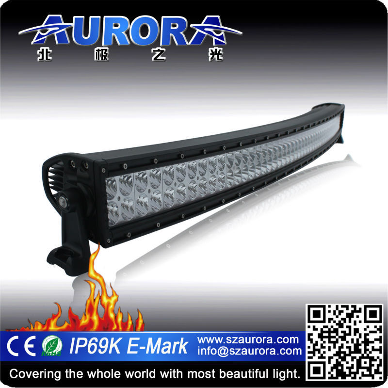 Modern design AURORA 50 inch curved led off road work light