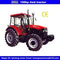 100HP 4WD High Quality Cheap Agricultural Farm Wheel Tractor With CE Cetification