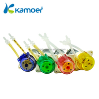 kamoer DC motor 12V small peristaltic water pump with silicon tubing