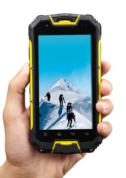 IP68 M8 MTK6589 4.5 inches waterproof android mobile phone with walkie talkie