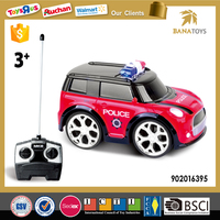 2016 Hot Item Police Plastic Mini Car Toy For Kid