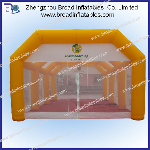 Adversting tent inflatable tennis sports equipment