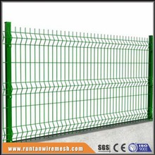 china supplier curved welded wire fence, curved iron fencing