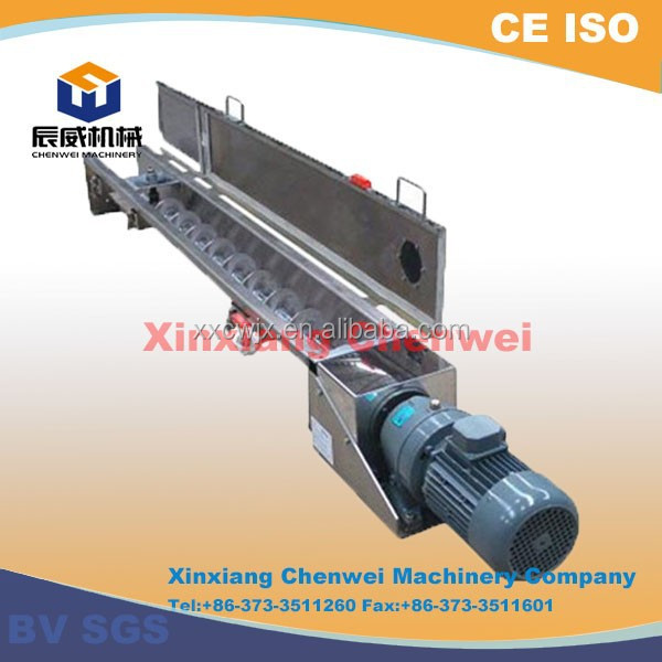 Screw conveyor / adjustable / medium / heavy-duty