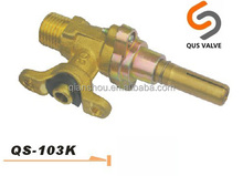 QUS 103K LPG NG brass commercial gas valve with CE CSA