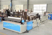 Embossming Rewinding and Perforating Toilet Paper Machine