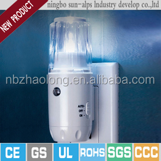 White LED, Foldable plug rechargeable emergency fibre optic lamp color