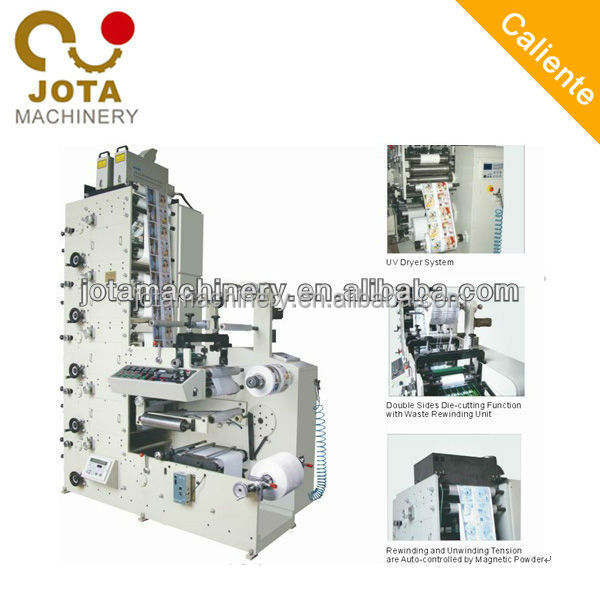 4 Color High Speed Paper Roll/Cup Printing Machine