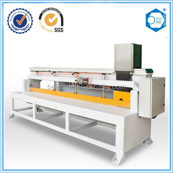 Beecore aluminum honeycomb core sawing machine